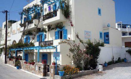 Griekse gastvrijheid bij Pension Sofi op Náxos