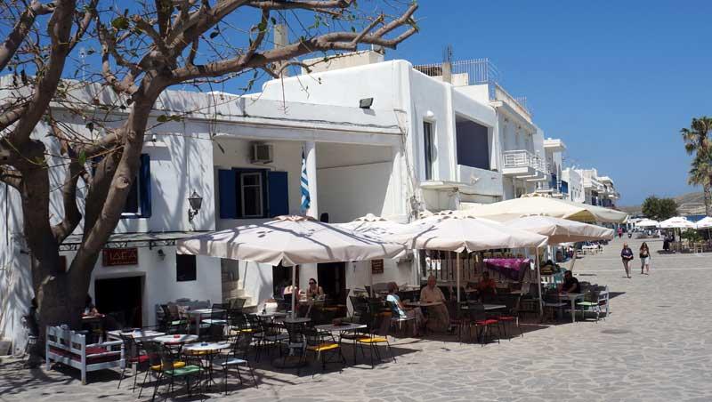 Terras Parikía - Paros - Cycladen