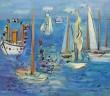 Bateaux Pavoisés - Raoul Dufy -1946