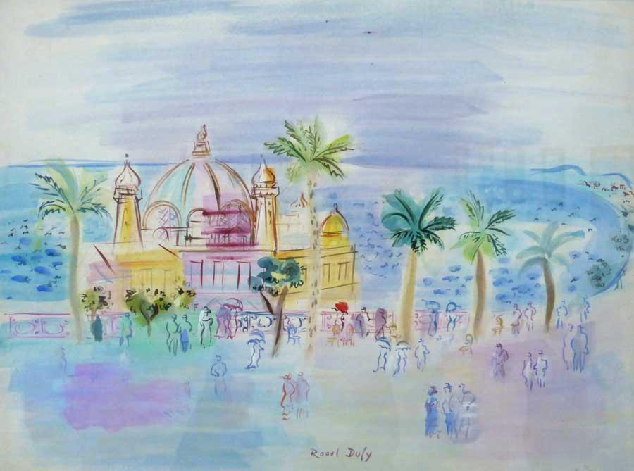 Le Casino de la Jetée Promenade à Nice - Raoul Dufy - 1946