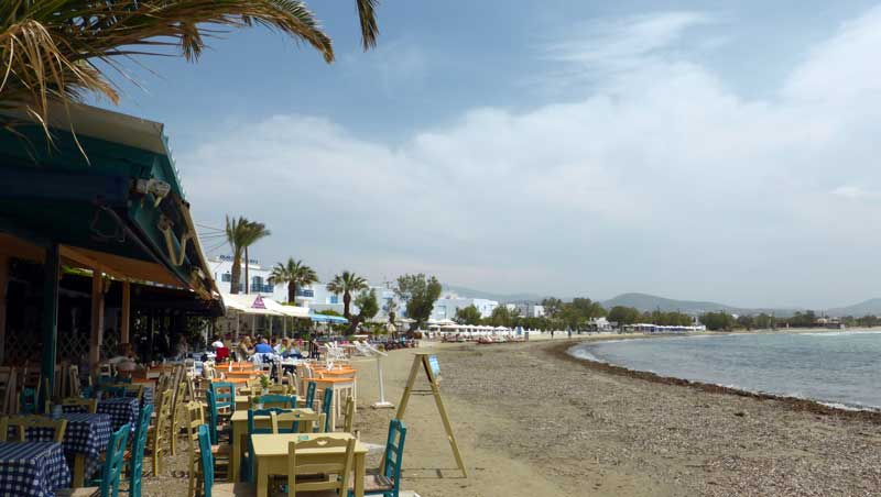 Strand Agios Georgios - Náxos - Cycladen