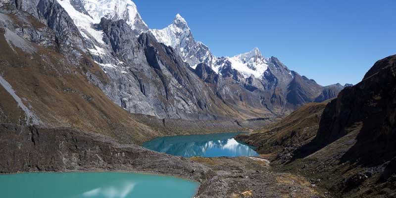 Grangrajanca - Siula - Quesillococha - Cordillera Huayhuash
