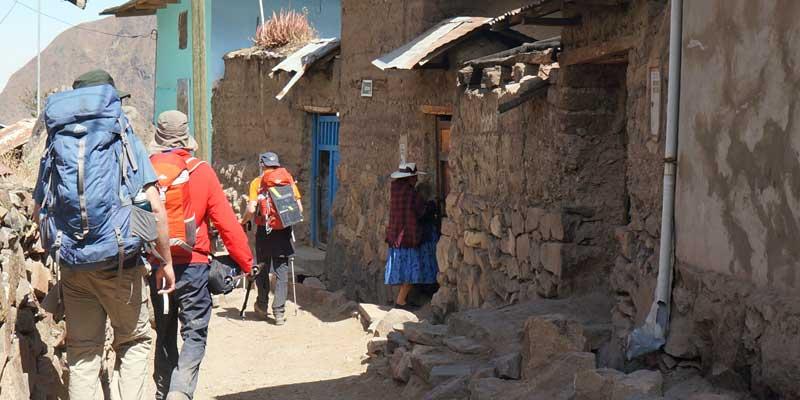 Huayllapa - Peru- Cordillera Huayhuash - hiking