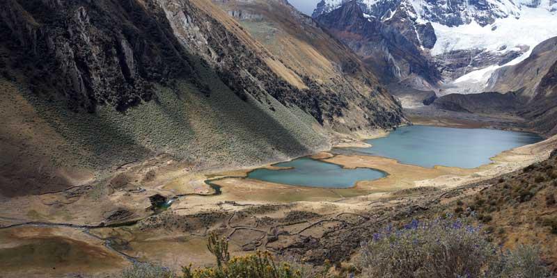 Jahuacocha - Solteracocha - Peru- Cordillera Huayhuash - hiking