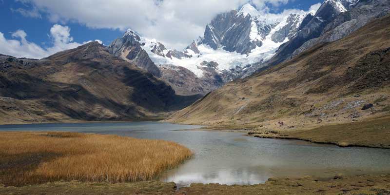Mitucocha-meer - Peru - Cordillera Huayhuash - hiking