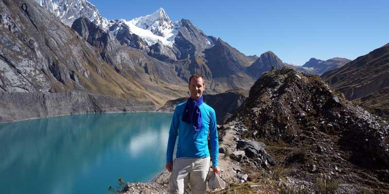 gletsjermeer - Peru - Cordillera Huayhuash - hiking