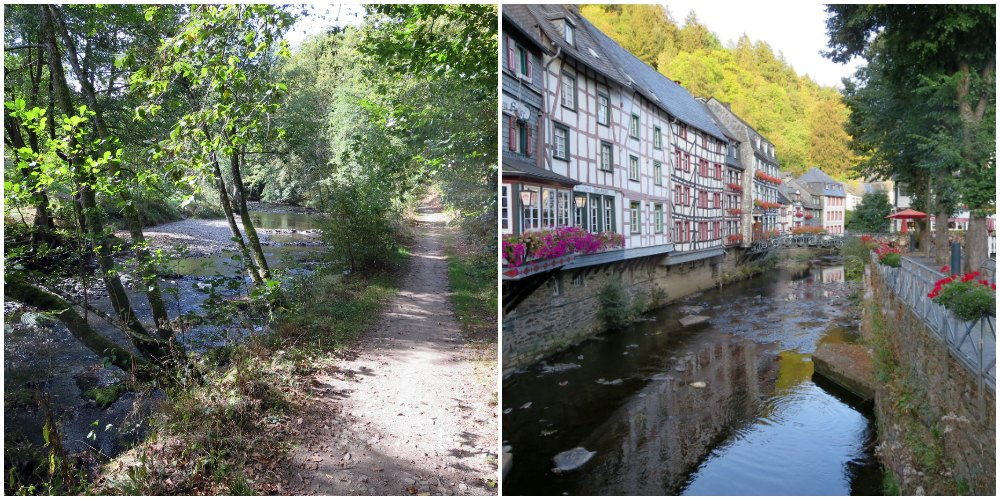 Roerwandeling - Monschau - langeafstandswandeling